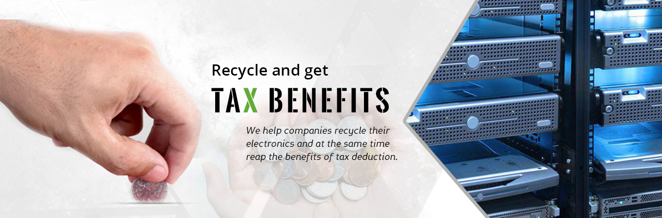 Recycle and Get Tax Benefits