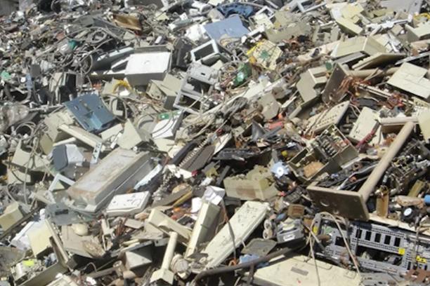 e waste dump
